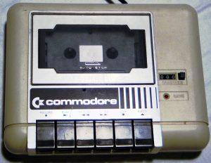 Commodore Datassette Datasette 1531 weiss