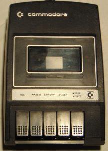 Commodore Datassette Datasette C2N schwarz