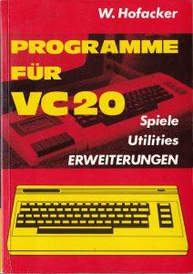 Hofacker 141 - Programme fuer VC 20