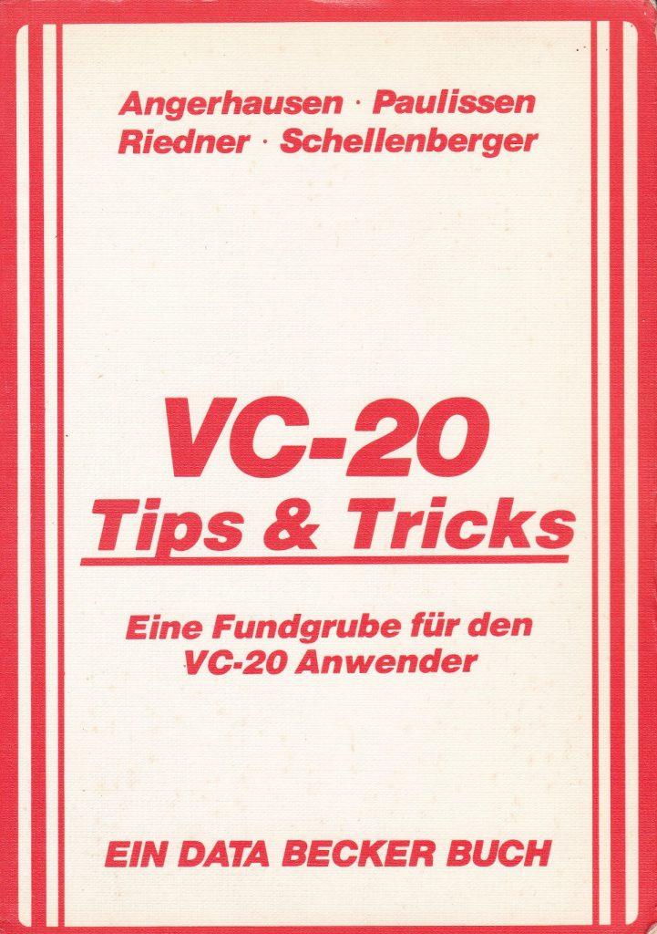 DATA BECKER - VC-20 Tips und Tricks