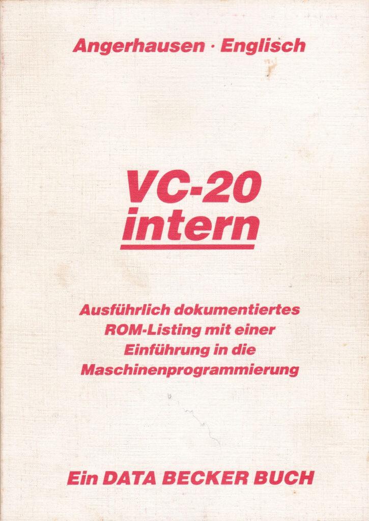 DATA BECKER - VC-20 intern Auflage 1
