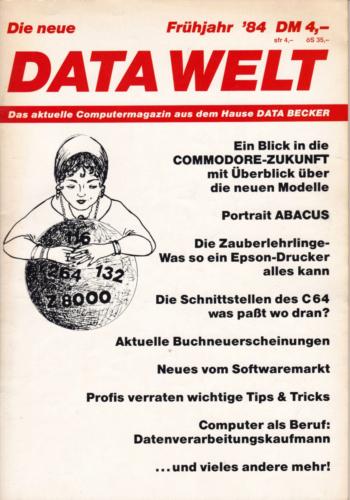 DATA WELT - 1984 Frühjahr