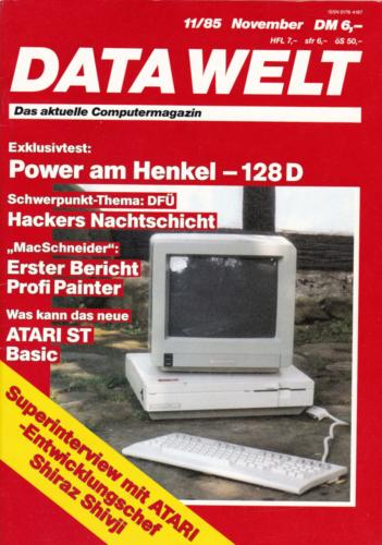 DATA WELT - 1985 November