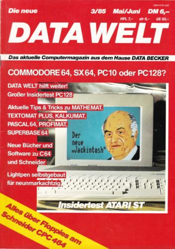 DATA WELT - 1985 Mai/Juni