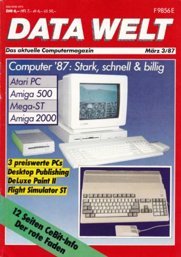 DATA WELT - 1987 März