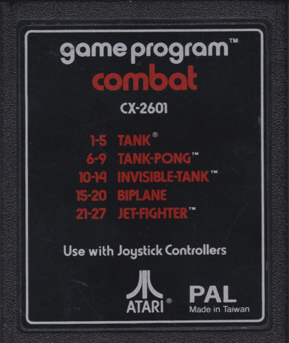 Atari CX-2601 Combat