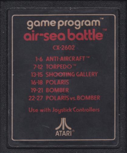 Atari CX-2602 Air-Sea Battle
