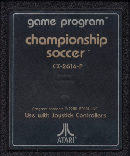 Atari CX-2616Championship Soccer