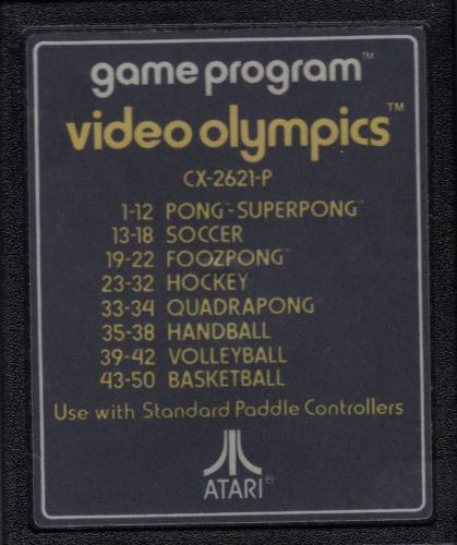 Atari CX-2621 Video Olympics