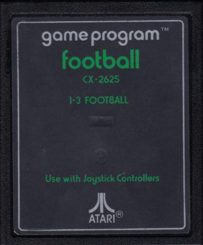 Atari CX-2625 Football