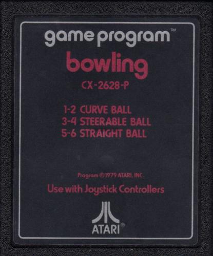 Atari CX-2628 Bowling