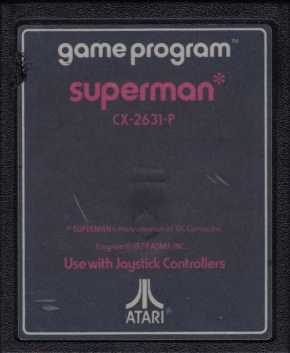 Atari CX-2631 Superman