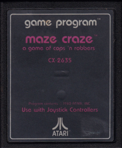 Atari CX-2635 Maze Craze