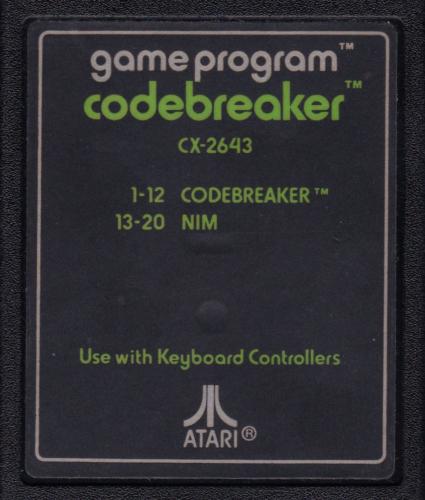 Atari CX-2643 Codebreaker