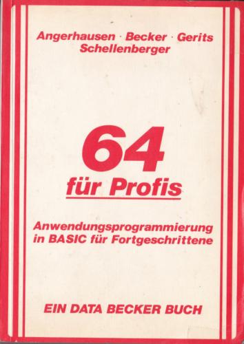DATA BECKER - 64 für Profis
