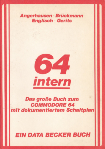 DATA BECKER - 64 intern