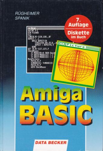 DATA BECKER - Amiga-BASIC