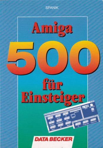 DATA BECKER - Amiga 500 für Einsteiger
