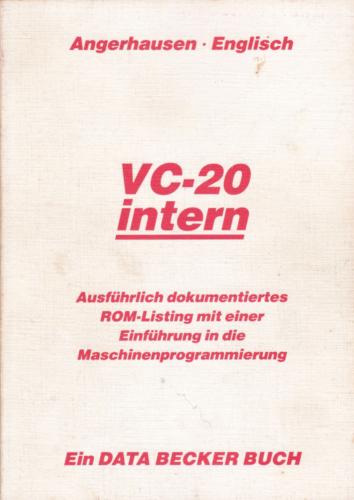 DATA BECKER - VC-20 intern