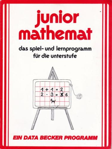 DATA BECKER - junior mathemat - das spiel- und lernprogramm fuer die Unterstufe