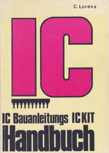 Hofacker Nr. 8 - IC Bauanleitungs Handbuch IC KIT