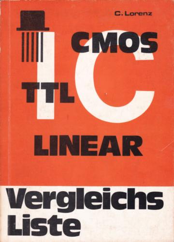 Hofacker Nr. 14 - IC-Vergleichsliste