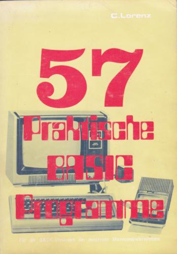 Hofacker Nr. 31 - 57 Praktische BASIC Programme 1 Auflage
