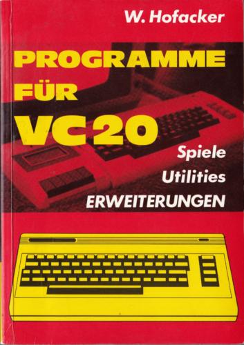Hofacker Nr. 141 - Programme fuer VC 20