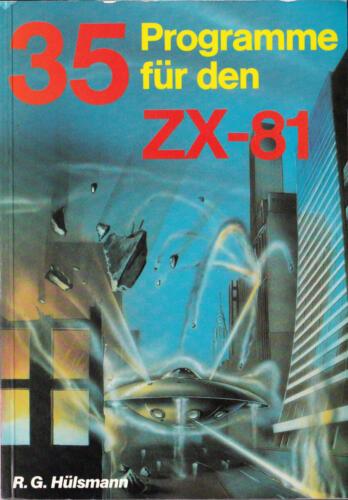 Hofacker Nr. 143 - 35 Programme für den ZX-81