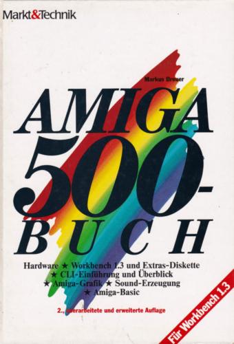Markt und Technik - Amiga 500 Buch