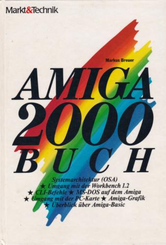 Markt und Technik - Amiga 2000 Buch