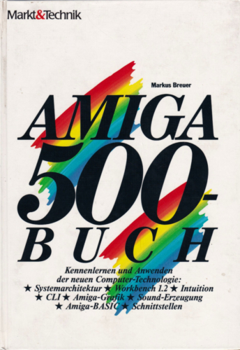 Markt und Technik - Amiga 500 Buch - Workbench 1.2