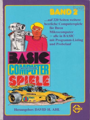 SYBEX 3010 - BASIC Computerspiele Band 2